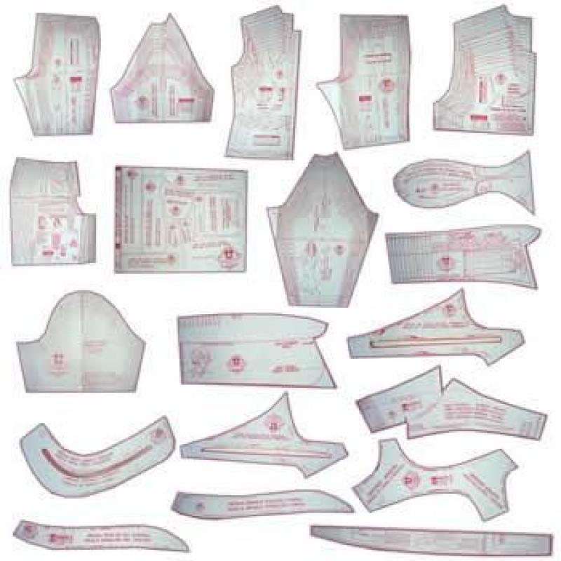 4a68991e33 40 - Kit De Moldes Para Costura Essencial Adulto
