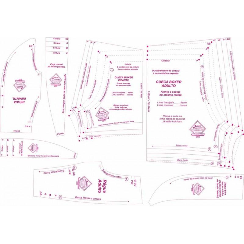 fc734078b 21 B-kit de cuecas Boxer Adulto e Infantil
