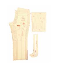 07 - Kit de Moldes Para Costura De Calça Jeans Feminina Adulto