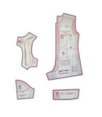 08 - Kit de Moldes Para Costura De Macaquinho Esporte Feminino Adulto