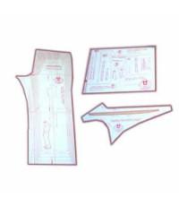 15 - Kit de Calça Social & Esporte Masculina Adulto - Técnica de Alfaiate