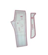 16 - Kit de Moldes Para Costura de Calça Jeans Masculina Adulto