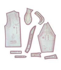 18 - Kit de Moldes Para Costura De Camisas Sociais & Esporte Masculina Adulto - Técnica de Alfaiate
