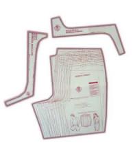 23 - Kit de Moldes Para Costura De Bermudas Esporte Unissex Adulto