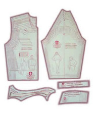 26 - Kit de Moldes Para Costura De Jaquetas & Japonas Unissex Adulto Para Confeccionar em Tecidos
