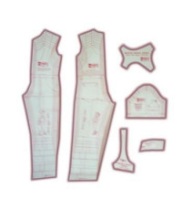 29 - Kit de Moldes Para Costura De Macacões Unissex Infanto Juvenil