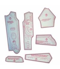 30 - Kit de Moldes Para Costura De Tip-Top e Pagãozinho Unissex