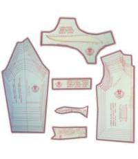 31 - Kit de Moldes Para Costura De Camisa Social & Esporte Infanto Juvenil