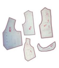 33-Kit de Moldes Para Costura De Coletes Clássicos Adulto e Infanto Juvenil Unissex
