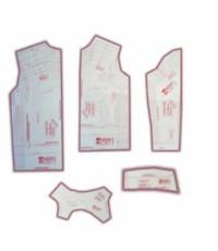 34 - Kit de Moldes Para Costura De Jaquetas e Japonas Unissex Infanto Juvenil