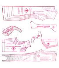 38 -Kit de Moldes Para Costura infanto juvenil (Vestidos, Saias, Blusas, Calças Fuseau, legging, 3/4 e Bermudas para tecido com elasticidade)