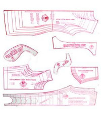 b32e9432d4 38 -Kit de Moldes Para Costura infanto juvenil (Vestidos
