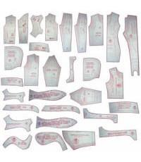 45 - Kit De Moldes Para Costura Inverno Infanto-Juvenil