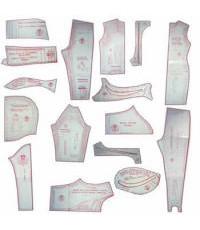 44 - Kit De Moldes Para Costura Inverno Adulto