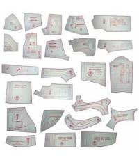 43 - Kit De Moldes Para costura Noite Adulto & Infanto Juvenil