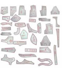 41 - Kit De Moldes Para Costura Essencial Infanto-Juvenil